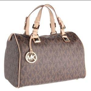 Michael Kors speedy satchel bag